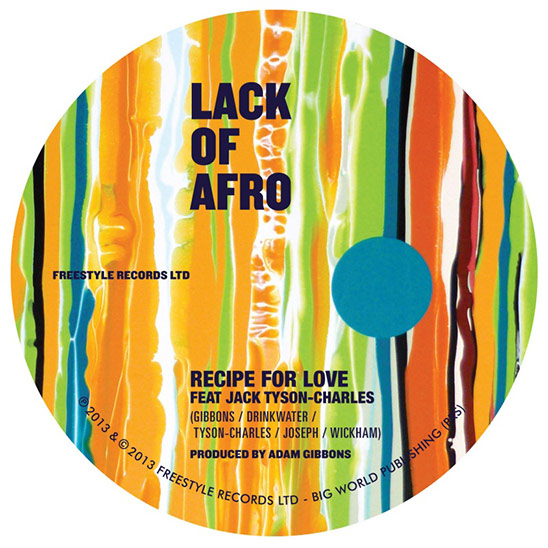 Lack of Afro - Recipe for Love feat. Jack Tyson-Charles